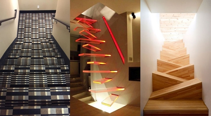 12 Awful Staircases That You Would Not Want To Climb