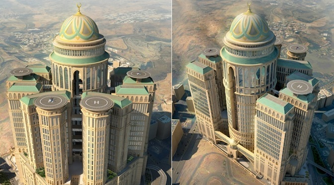 Abraj Kudai: The World Largest Hotel With 10000 Rooms and 70 Restaurants