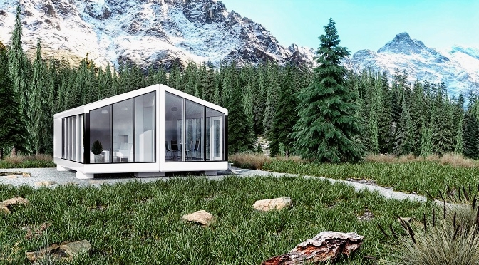 These Eco Friendly Mini Lodges Work Completely Off The Grid