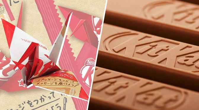 This Eco Friendly Paper Packaging By KitKat Can Be Turned Into An Origami