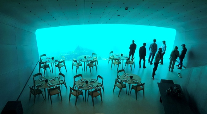 This Underwater Restaurant In Norway Will Make You Want To Visit This Place