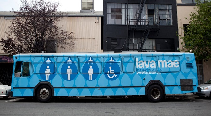 This Company Is Turning Old Buses Into Bathrooms And Showers For Homeless People