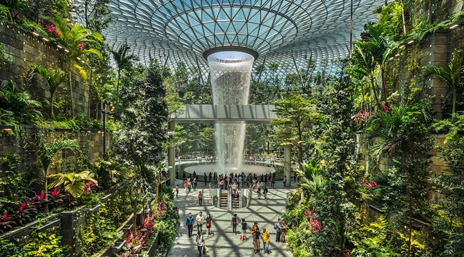 Singapore's Changi International Airport Named As Worlds Top Airport