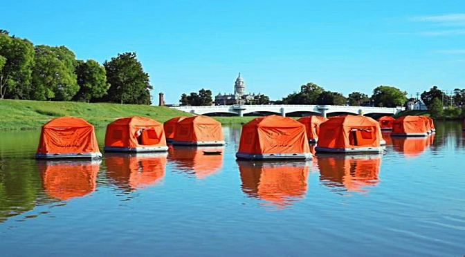 This Floating Tent Is A Dream Shelter For Wanderers