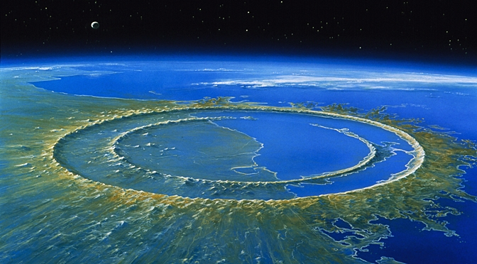 The Asteroid That Killed Dinosaurs Had Jolted the Marine Life Also