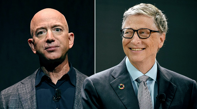 Battle Of The Billionaires, Bill Gates is the World's Richest Again
