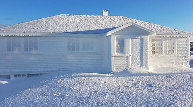 People Get Trapped In Their Houses By Record-Breaking Snowfall In Newfoundland, Canada