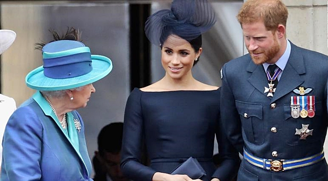 Harry And Meghan Will No Longer Use Their Titles Of Royal Highness