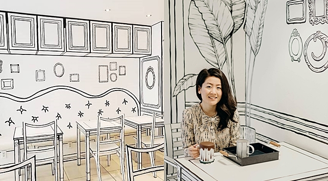 This 2D Cafe In Seoul Will Make You Feel Like You Are In The Cartoon World