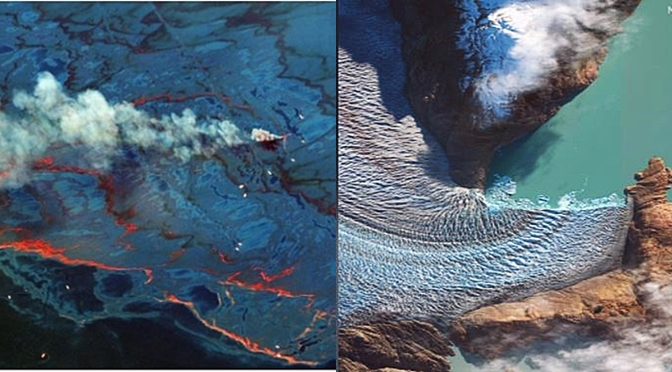 Five Rare Events On Earth Captured From Space