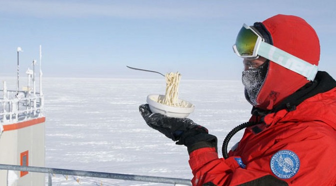 What Its Like To Have Breakfast In Antarctica