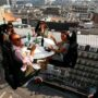 """The Famous """"Dinner in the Sky"""" Returns To Brussels"""